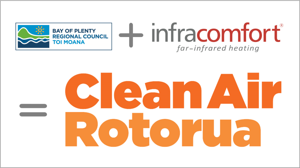Clean Air Rotorua with Infracomfort far-infrared heating