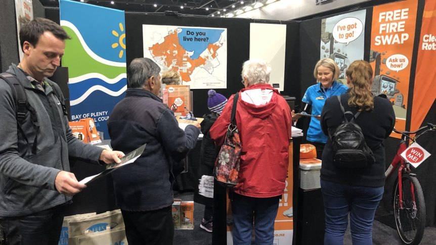 Bay of Plenty Regional Council's Hot Swap stand
