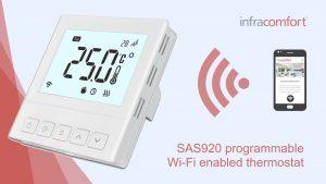 Infracomfort Smart SAS920 Wi-Fi Thermostat_