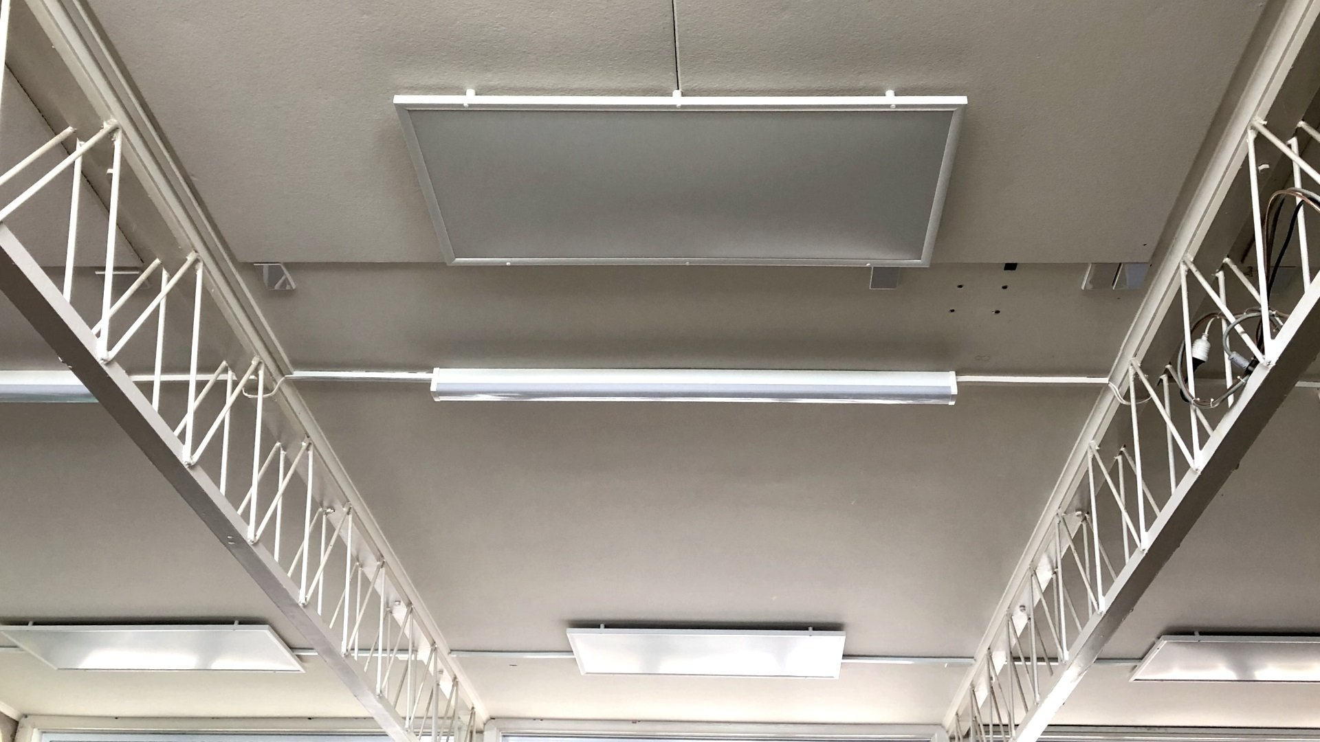 Lynmore School Infrared heat panels