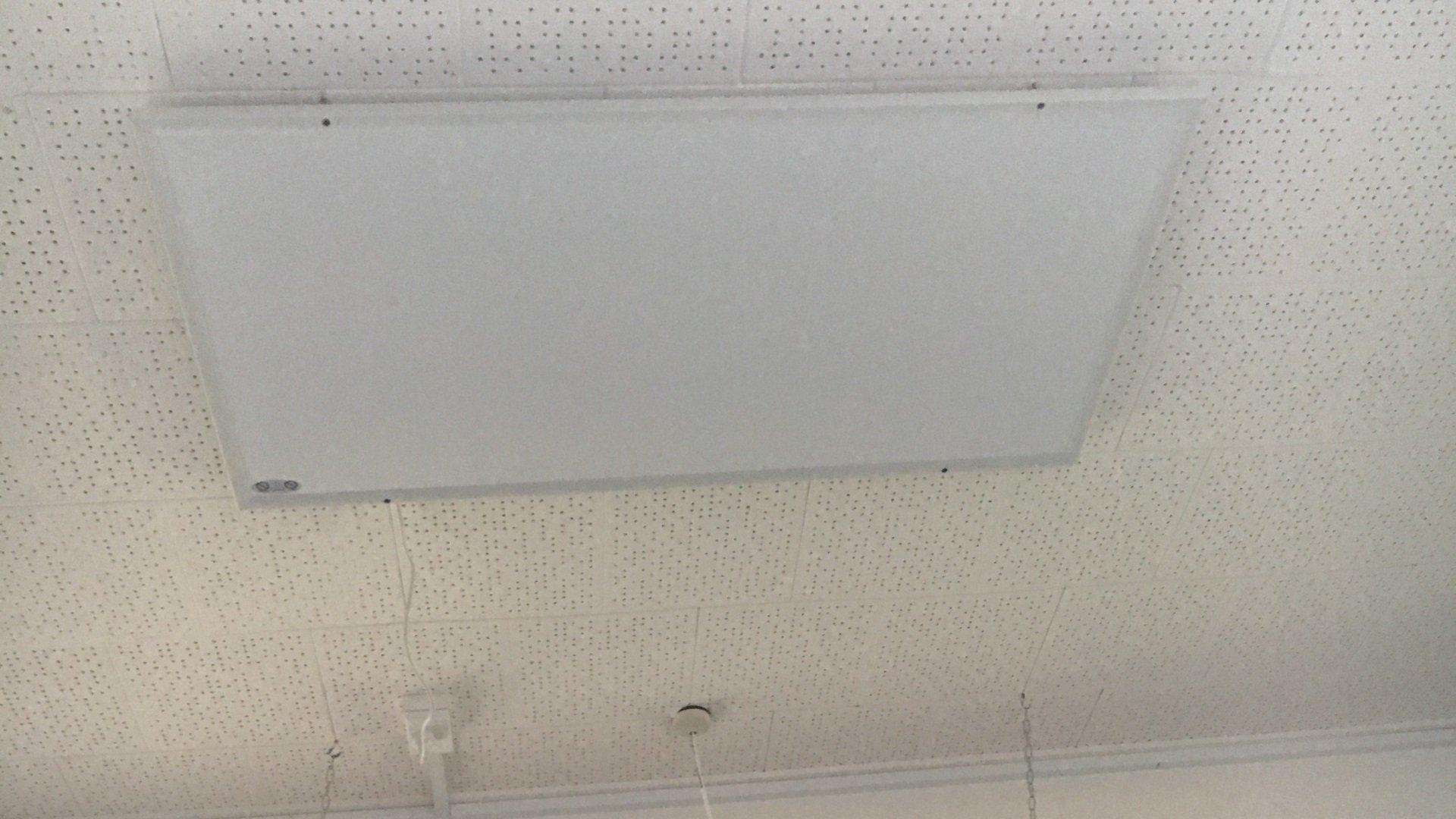 Moerewa School infrared heating panels