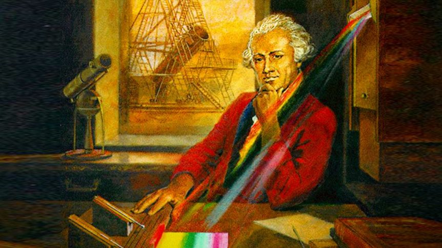 Sir Frederick William Herschel discovered infrared light