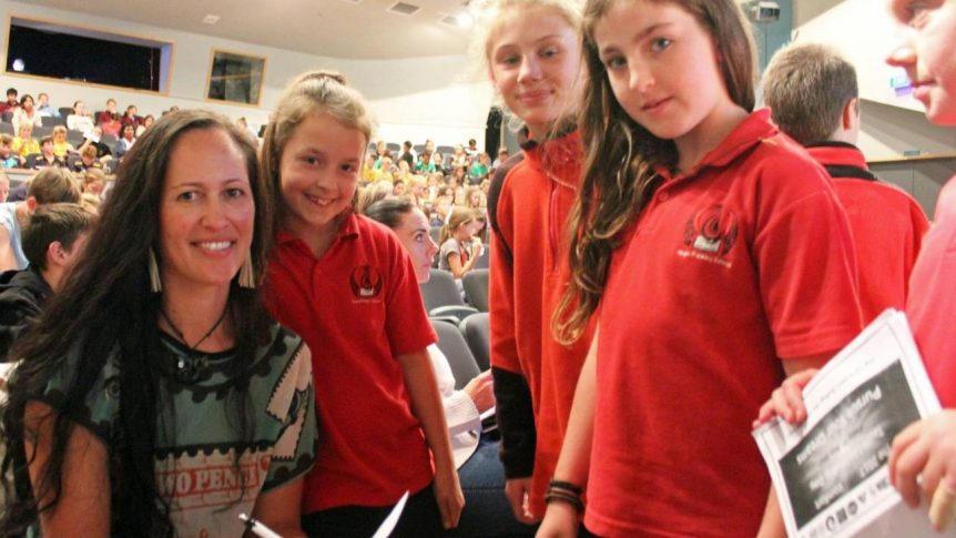 Taupo children shown how to be a leader